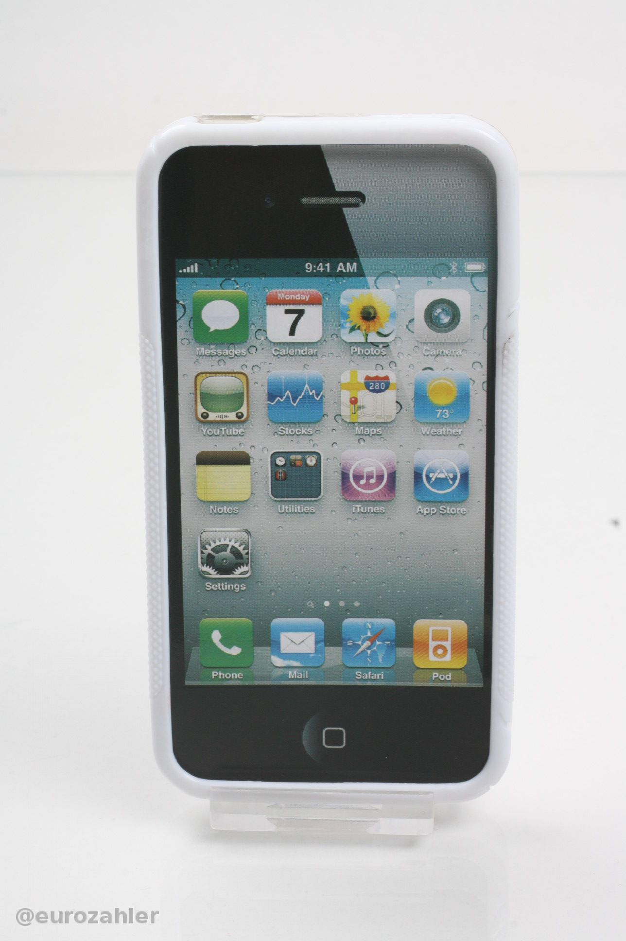 apple iphone 4 4g 4s bumper weiss. Black Bedroom Furniture Sets. Home Design Ideas